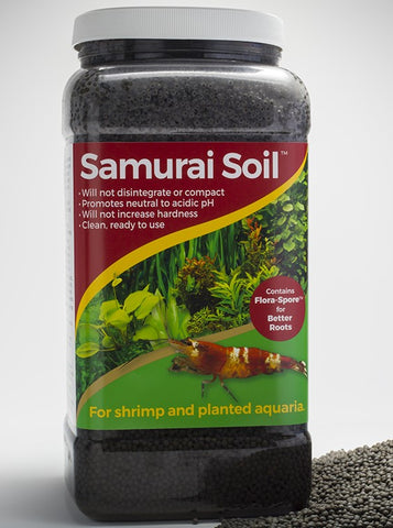Caribsea Samurai Soil - Bay Bridge Aquarium and Pet