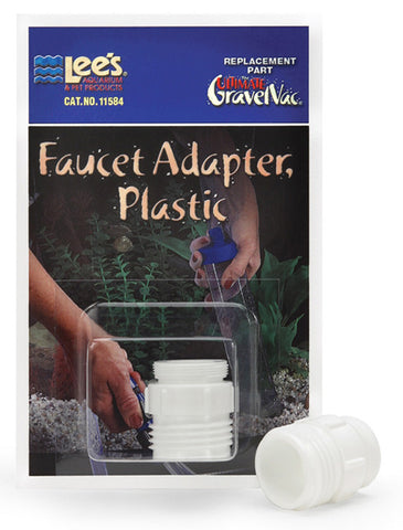 Lee's Faucet Adapter - Plastic - Bay Bridge Aquarium and Pet
