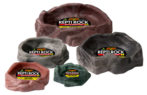 Zoo Med Medium Repti Rock Reptile Water Dish