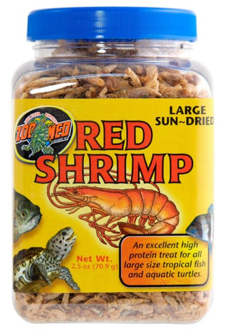 Zoo Med Food Red Shrimp