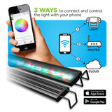 Aquatic Life Reno WiFi RGBW LED Light with Phone App - Bay Bridge Aquarium and Pet