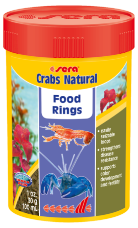 Sera Crabs Natural Food Rings