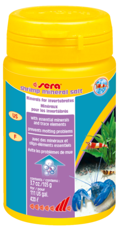 Sera shrimp mineral salt