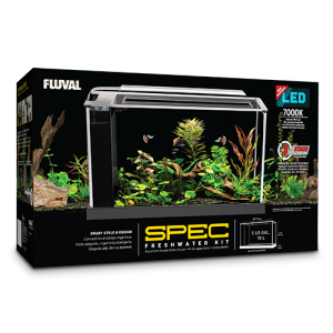 Fluval Spec Aquarium Kit 5 US Gal (19 L) - White