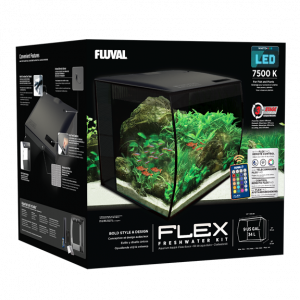 Fluval Flex Aquarium Kit 9 US GALLON