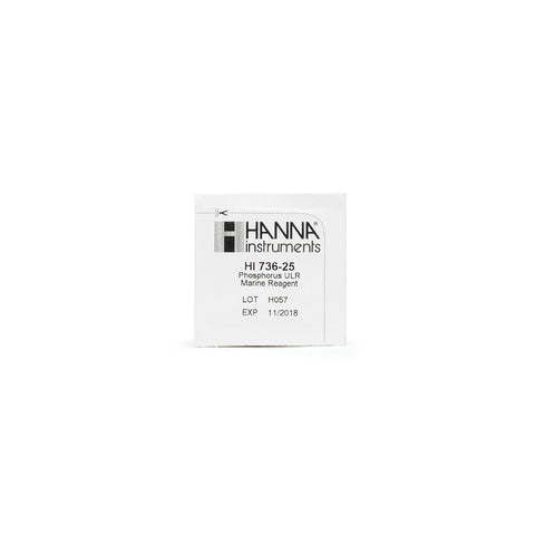 Hanna Instruments Phosphorus Ultra Low Range Checker® HC Reagents (25 Tests)