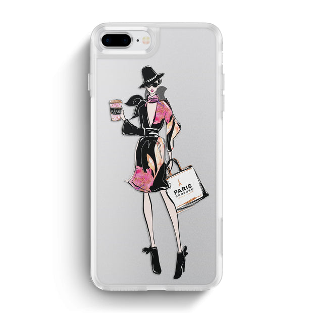 Nearly Nude iPhone Case -Glowing in Paris
