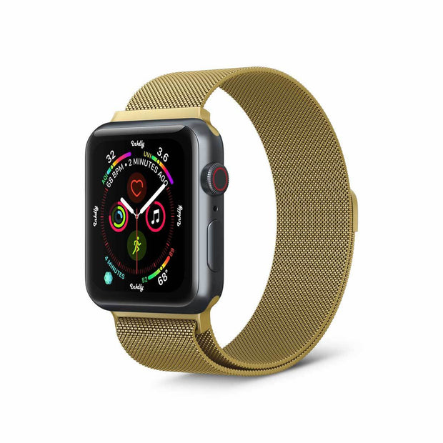 Stainless Milanese Apple Watch Band with Magnetic Lock