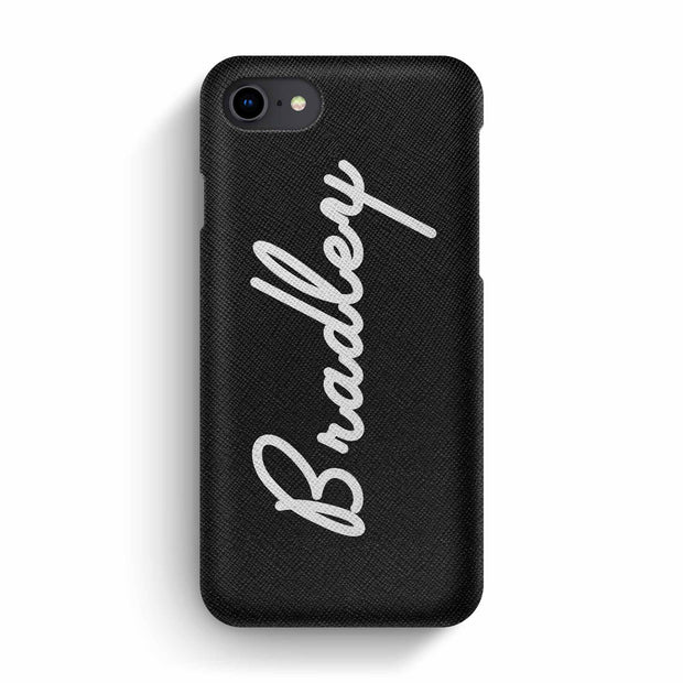 Saffiano Leather Phone Case - Cali Signature Series