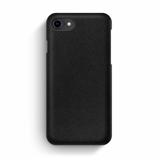 iPhone 7/8 / Black Saffiano