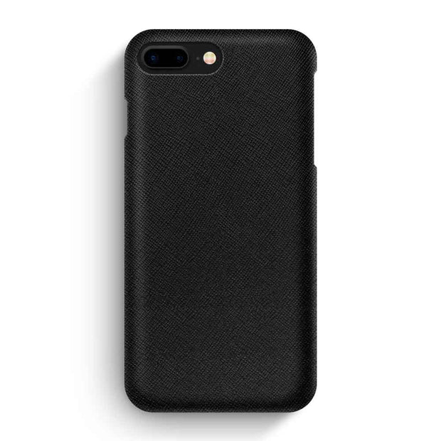 iPhone 7 Plus/8 Plus / Black Saffiano