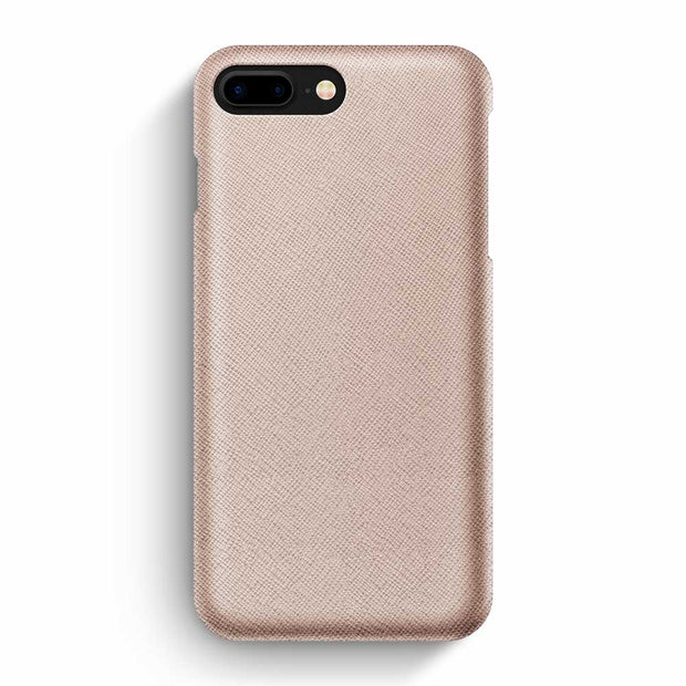 iPhone 7 Plus/8 Plus / Rose-Gold Saffiano