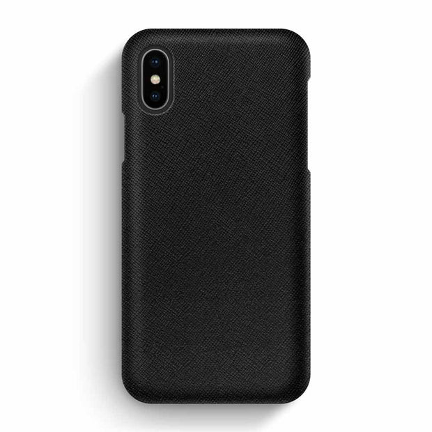 iPhone X/XS / Black Saffiano
