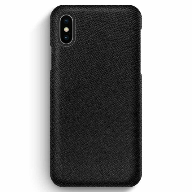 iPhone XS Max / Black Saffiano