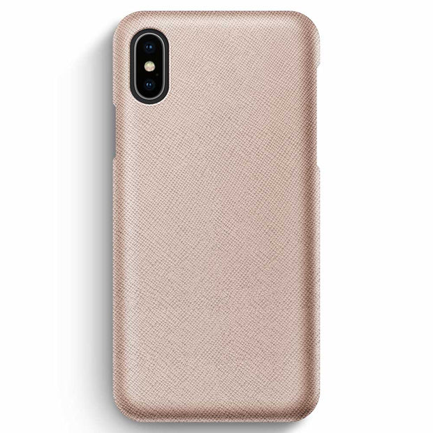 iPhone XS Max / Rose-Gold Saffiano