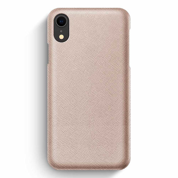 iPhone XR / Rose-Gold Saffiano
