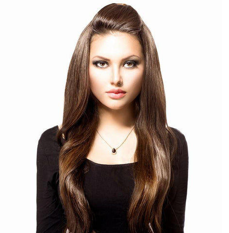 "RUBY CLIP IN 18"" 140g - Identity Hair Extensions"