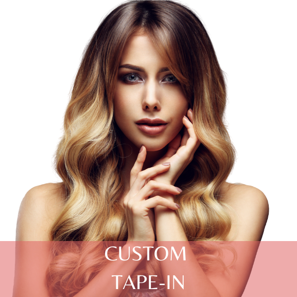 Custom Tape In Extensions - 4 Packs (40 Pieces) 100g