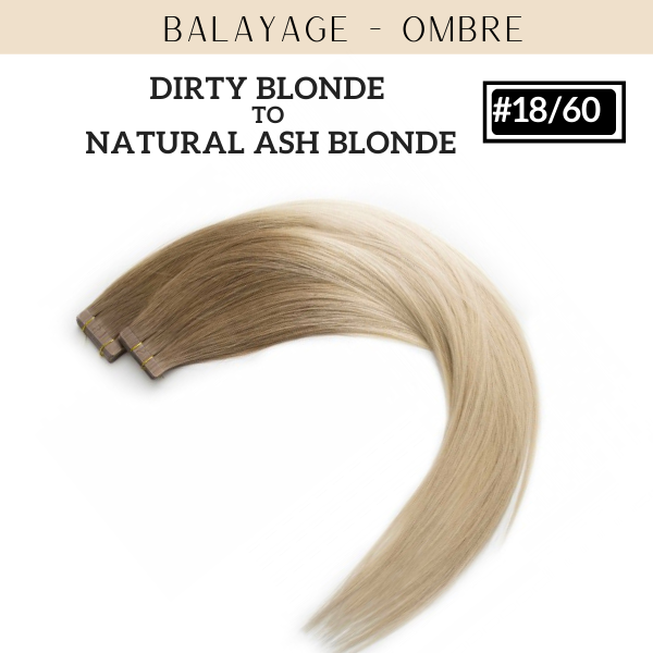 Balayage - Ombre Tape-in  Collection (10 Pieces) | Identity Hair Extensions