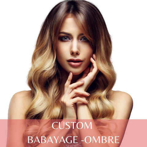 Custom Balayage - Ombre Tape-in (40 Pieces) | Identity Hair Extensions