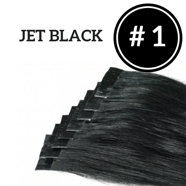 Custom Tape In Extensions - 4 Packs (40 Pieces) 100g | Identity Hair Extensions
