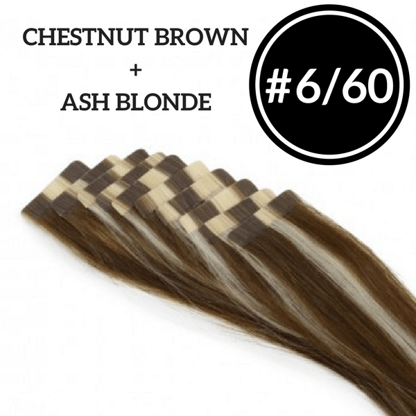 Custom Tape In Extensions (2 Packs) - Identity Hair Extensions
