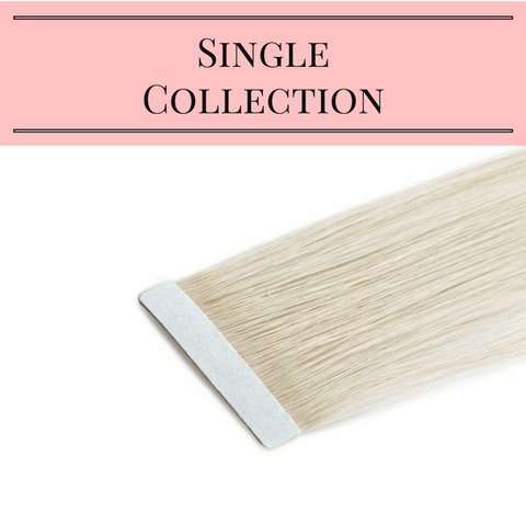 Single Tape-In Collection | Identity Hair Extensions