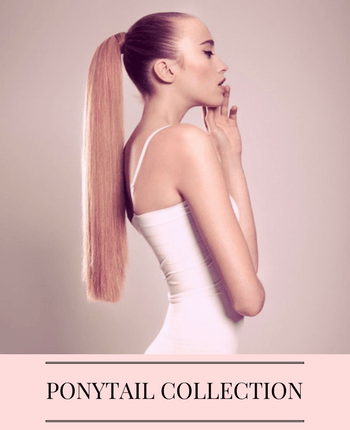 Ponytail Hair Extensions - Custom - | Identity Hair Extensions