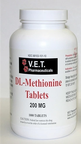 DL-Methionine 200mg 1000 Count