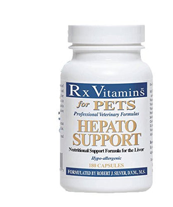 Rx Vitamins for Pets Hepato Support 180 Capsules