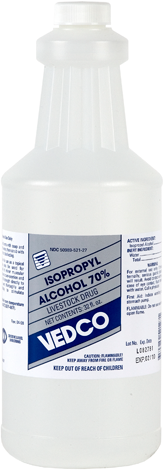 Vedco Isopropyl Alcohol 32 Ounces
