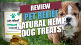 Pet Releaf Large Breed, Peanut Butter Banana CBD Hemp Oil Edibites