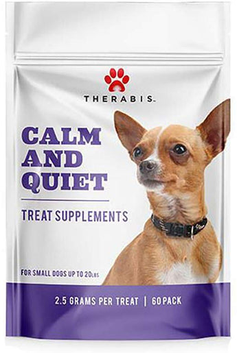 Therabis Calm and Quiet Soft Chews For Small Dogs Up To 20 LBS.