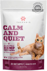 Therabis Calm & Quiet Soft Chews for Cats