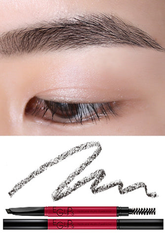 Eglips - Natural Auto Eyebrow Gray Brown