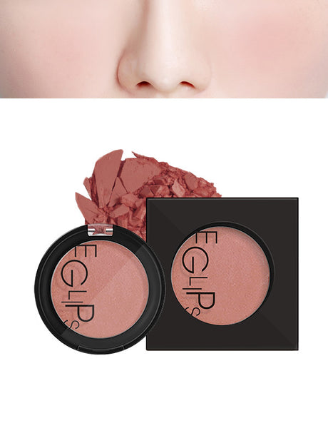 Eglips - Apple Fit Blusher 09 Caramel Pink