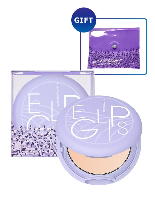 Eglips - Blur Powder Pact Lavender (Limited Edition) #21