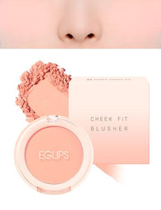 Eglips - Cheek Fit Blusher 03 Peach