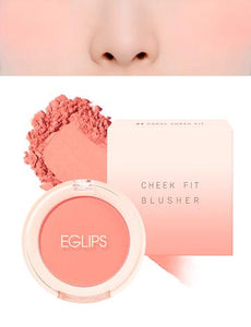 Eglips - Cheek Fit Blusher 04 Coral