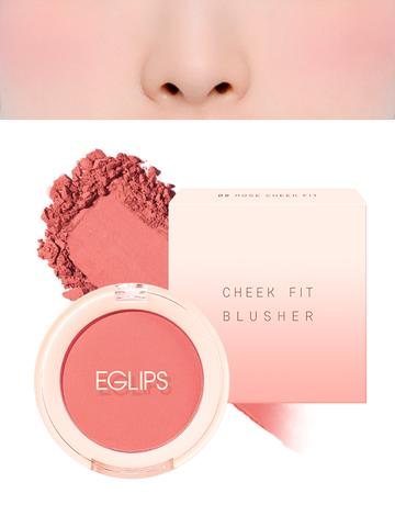 Eglips - Cheek Fit Blusher 05 Rose