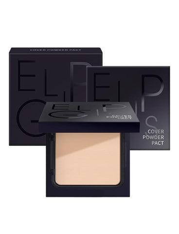 Eglips - Cover Powder Pact #21 Light Beige