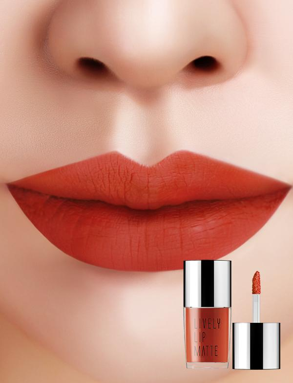 Eglips - Lively Lip Matte LM009 Get Some Orange Matte
