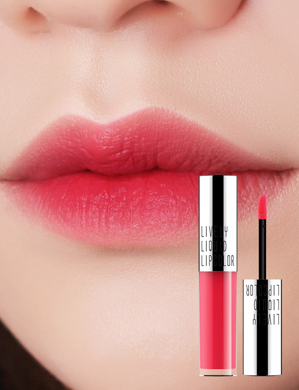 Eglips - Lively Liquid LipColor 01 SugarCoral