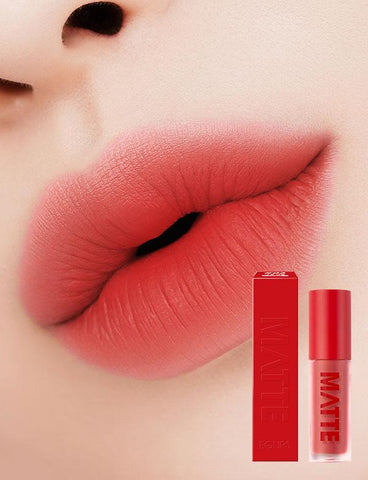 Eglips - Matte Fit Lip Lacquer 03 Coral