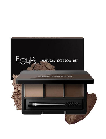 Eglips - Natural Eyebrow Kit #01 Natural Brown