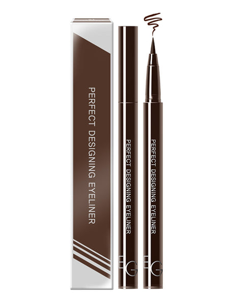 Eglips - Perfect Designing Eyeliner #02 Rich Brown