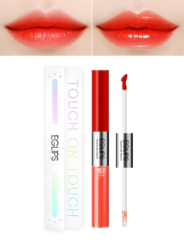 Eglips - Touch On Touch Flash Lip L2 Grapefruit