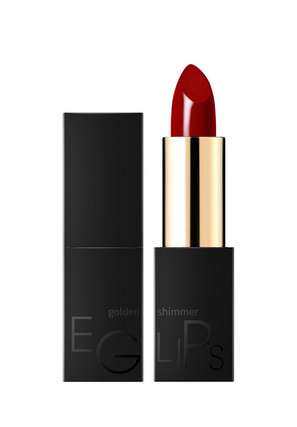 Eglips - Golden Shimmer Lipstick  #04 Red Aura