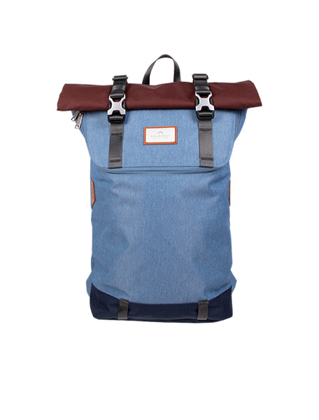 CHRISTOPHER EARTH TONE SERIES Blue Gray x Maroon