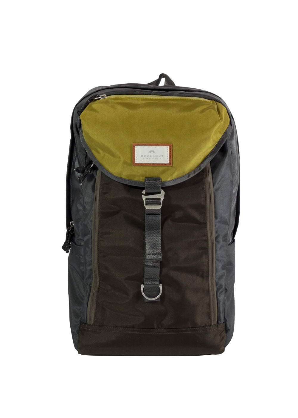 MORRIS GLOSSY BLOCKING SERIES Charcoal x Olive
